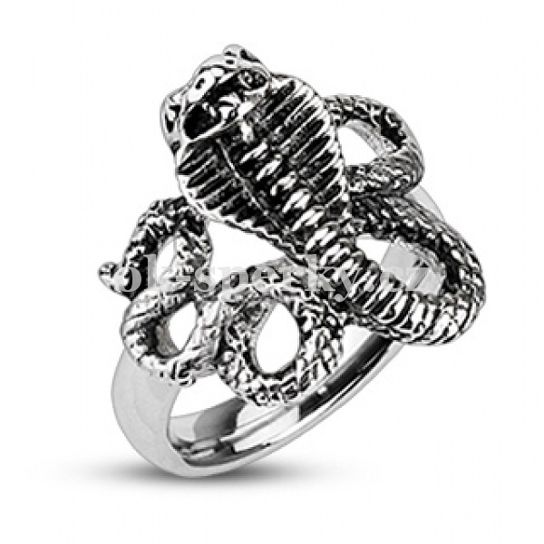 Prsten z chirurgické oceli R-H2098 (Dárkové balení zdarma)