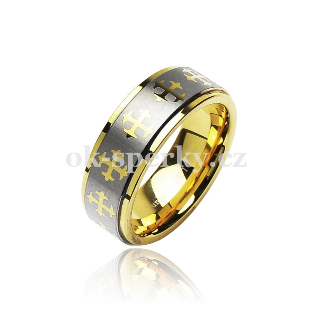 Wolframový prsten R-TU-001 (Wolframový prsten R-TU-001)