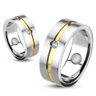 Snubní prsteny z chirurgické oceli R11867 (Snubní prsteny z chirurgické oceli R11867)
