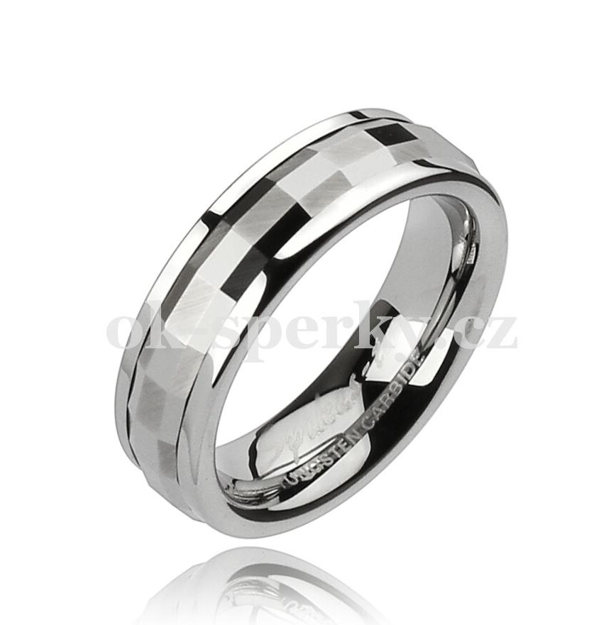 Wolframový prsten R-TUF-004 (Wolframový prsten R-TUF-004)
