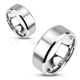 Snubní prsteny z chirurgické oceli R-M0018 (Snubní prsteny z chirurgické oceli R-M0018)