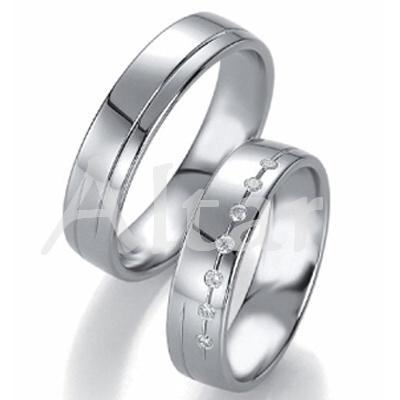 Titanové snubní prsteny JT1551