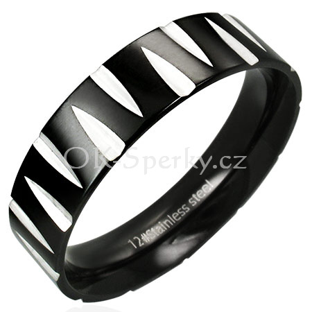Prsten z chirurgické oceli RAH040 (Prsten z chirurgické oceli RAH040)