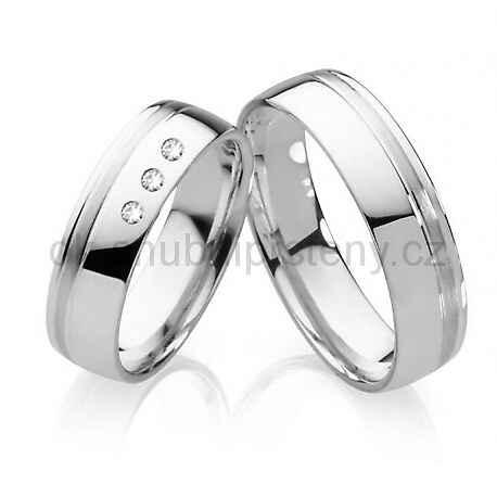 Snubní prsteny chirurgická ocel OC1006