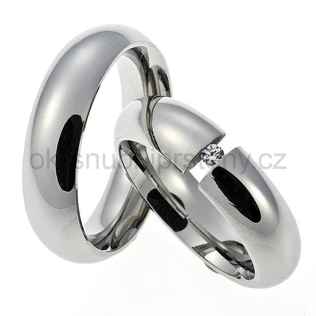 Snubní prsteny chirurgická ocel OC1010