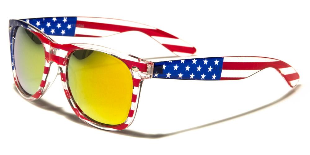Sluneční brýle Wayfarer W-7110-FLAGB