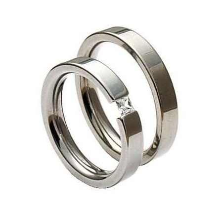 Snubní prsteny chirurgická ocel OC1014