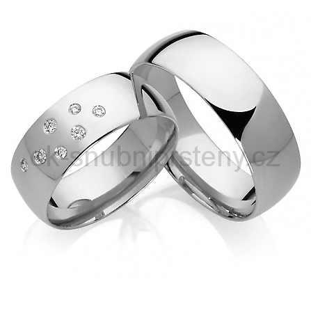 Snubní prsteny chirurgická ocel OC1016