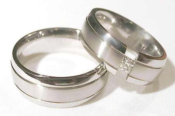 Snubní prsteny z chirurgické oceli OC1019