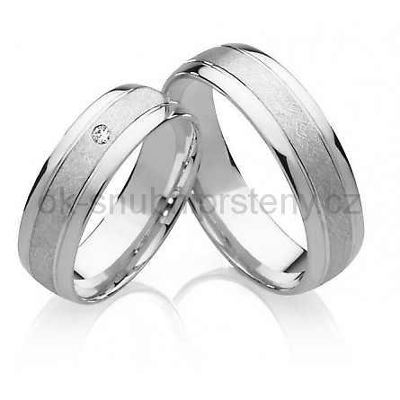 Snubní prsteny chirurgická ocel OC1020