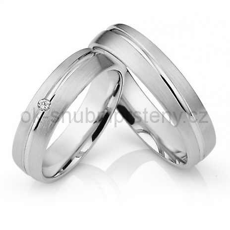 Snubní prsteny z chirurgické oceli OC1021