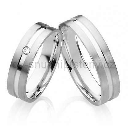 Snubní prsteny chirurgická ocel OC1022