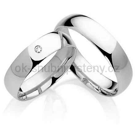 Snubní prsteny chirurgická ocel OC1024