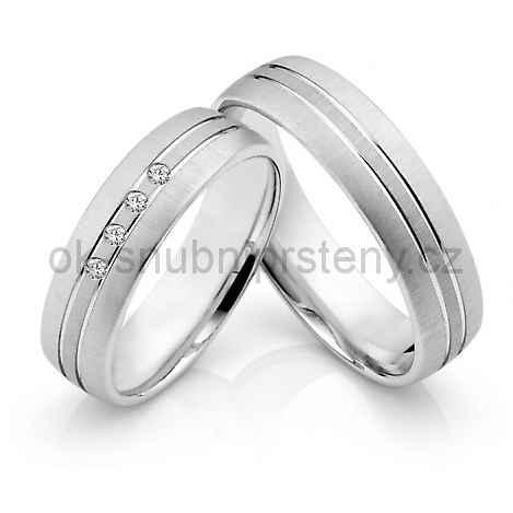 Snubní prsteny z chirurgické oceli OC1029