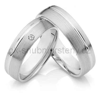 Snubní prsteny chirurgická ocel OC1030