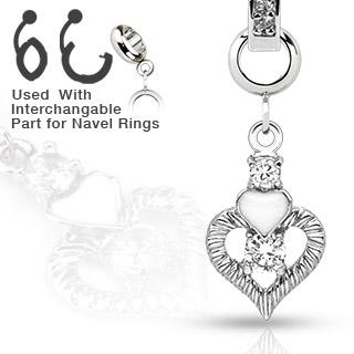 Přívěsek na piercing charms CH-012 (Přívěsek na piercing CH-012)