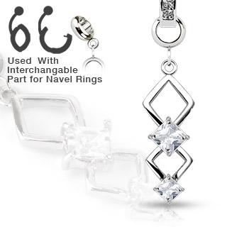 Přívěsek na piercing charms CH-026 (Přívěsek na piercing CH-026)