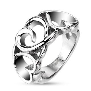 Prsten z chirurgické oceli R-H4386
