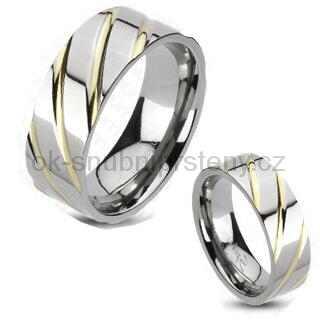 Titanové snubní prsteny R-TM-3036 (Titanové snubní prsteny R-TM-3036)