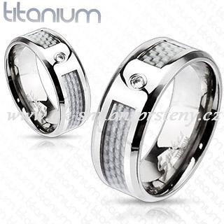 Titanové snubní prsteny R-TM-3313 (Snubní prsteny R-TM-3313)