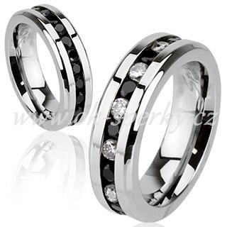 Snubní prsteny z chirurgické oceli R-H1572 (Snubní prsteny R-H1572)