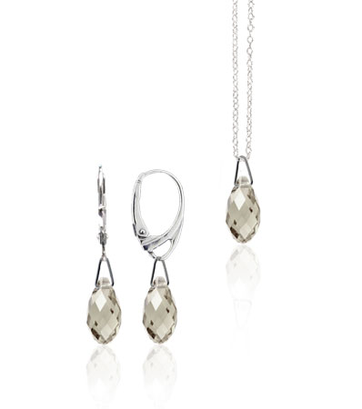 Souprava Silver Shade Crystal 114 (Made with Swarovski® Elements)