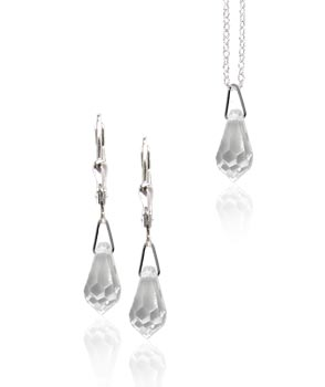 Souprava Swarovski briollete Crystal SW9 (Made with Swarovski® Elements)