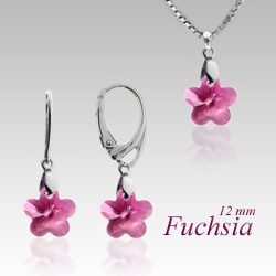 Souprava flower Crystal SB1 (Made with Swarovski® Elements)