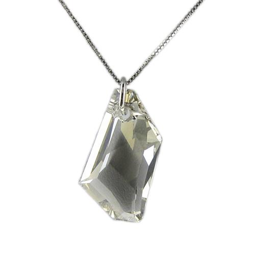 Náhrdelník Vektra Silver Shade Crystal E004 (Made with Swarovski® Elements)