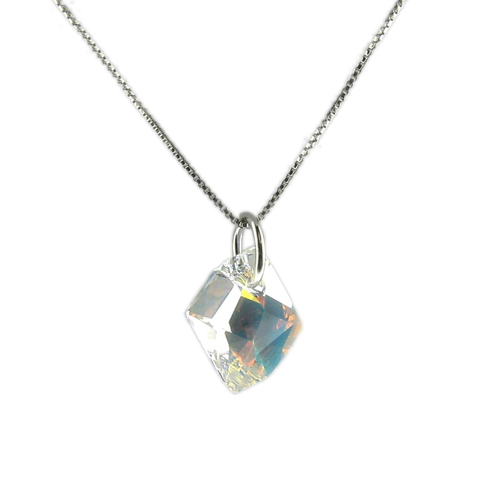 Náhrdelník Vektra AB Crystal E006 (Made with Swarovski® Elements)