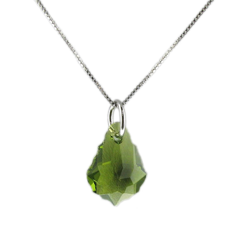 Náhrdelník Greenness Crystal E039 (Made with Swarovski® Elements)