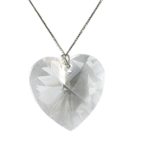 Náhrdelník Srdíčko Crystal E042 (Made with Swarovski® Elements)