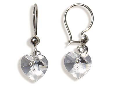 Náušnice obero crystal (Made with Swarovski® Elements)