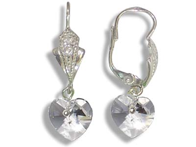Náušnice Sumatra crystal (Made with Swarovski® Elements)