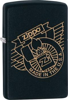 Benzínový zapalovač Zippo Zippo Made in USA 26629 (Benzín Zdarma)