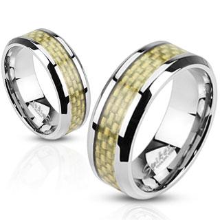 Snubní prsteny z chirurgické ocel R-M2316
