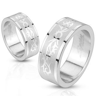 Snubní prsteny z chirurgické ocel R10160