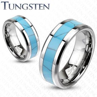 Wolframové snubní prsteny R-TU-205