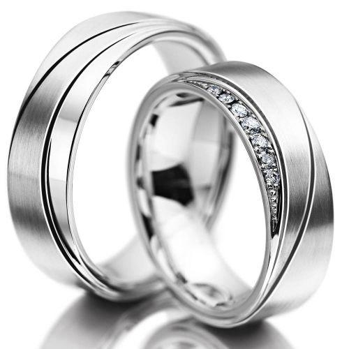Snubní prsteny z chirurgické oceli OC1056