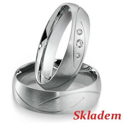 Snubní prsteny chirurgická ocel OC1054
