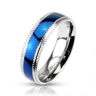 Prsten z chirurgické oceli R-H0942 (Dárkové balení zdarma)
