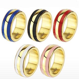 Prsten z chirurgické oceli E-R-Q4628 (Dárkové balení zdarma.)