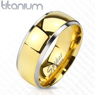 Titanový prsten R-TI-4382 (Dárkové balení zdarma)