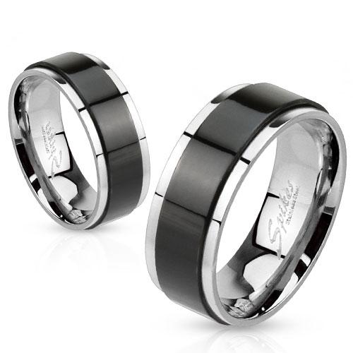 Snubní prsteny z chirurgické oceli R-H1658