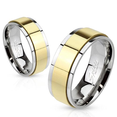 Snubní prsteny z chirurgické ocel R-H1659