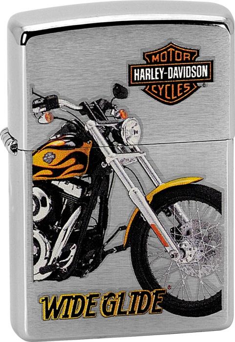 Benzínový zapalovač Zippo Harley-Davidson® 21718 (Benzín Zdarma)