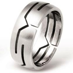 Ocelový prsten AKCE RSSO328 (Ocelový prsten AKCE RSSO328)