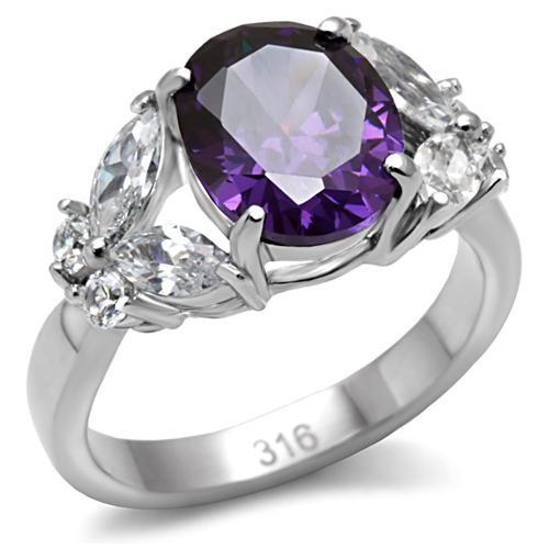 Prsten z chirurgické oceli TK086 (Prsten TK086)