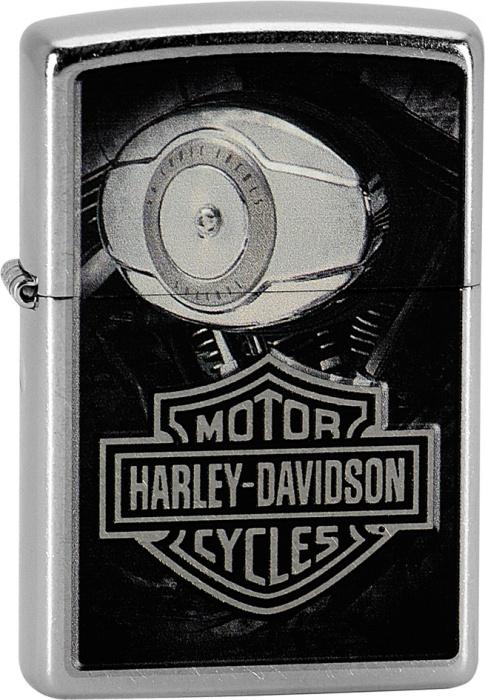 Benzínový zapalovač Zippo Harley-Davidson® 25383 (Benzín Zdarma)