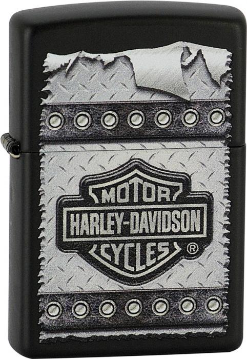 Benzínový zapalovač Zippo Harley-Davidson® 26568 (Benzín Zdarma)